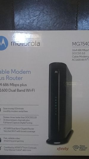 Cable Modem plus Router for Sale in Las Vegas, NV