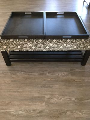 Arhaus ottoman / coffee table for Sale in Strongsville, OH