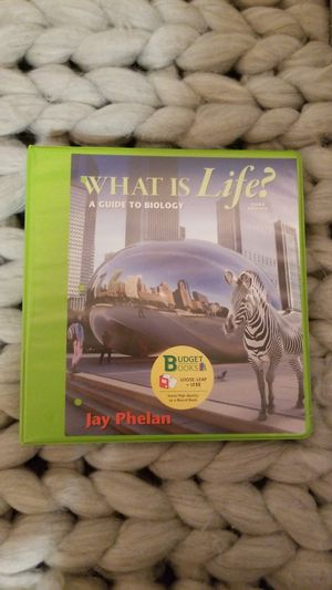 What is Life? A Guide to Biology 3rd Editon for Sale in San Luis Obispo, CA