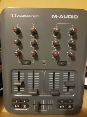 M-Audio XSESSION PRO DJ MIXER for Sale in New York, NY