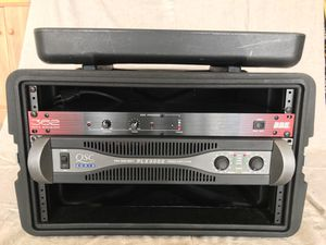 Pro Audio Amplifier and Sonic Maximizer with 6U case for Sale in Winchester, CA