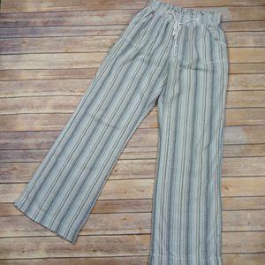 Buckle | Ci Sono Striped Linen Blend Beach Pants- SZ XL for Sale in Las Vegas, NV