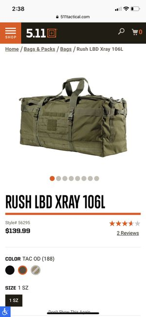 5.11 duffle bag for Sale in Vancouver, WA