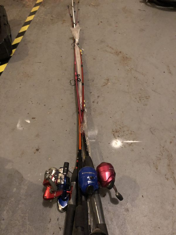 Fishing Rods-lot of 4