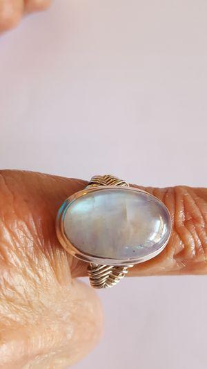 Moonstone silver ring. for Sale in Chula Vista, CA