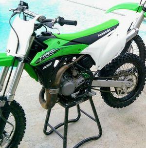 2015 Kawasaki Kx 100 Dirt Bike Motorcycle! for Sale in Corona, CA
