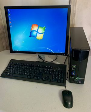 eMachines EL1331-05 Desktop Computer (320GB, AMD Athlon, 1.8GHz, 3GB RAM) PC w/ Monitor, Mouse & Keyboard for Sale in Coral Springs, FL