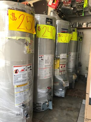 Water heaters ❗️ we are located at 2501 w. 54th St. LA 🛑 open 8:00-6:00 pm ❗️ Ask for Isabel for a 10% off 💯❗️ for Sale in Los Angeles, CA