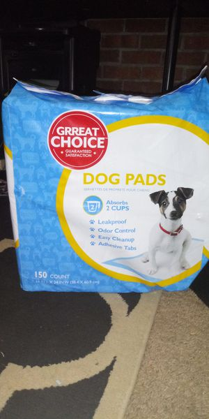 Dog pads new 150 count, i paid $52 dollars for Sale in Providence, RI