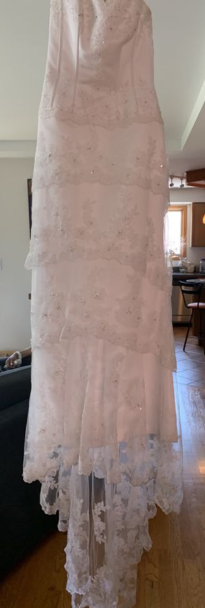 Maggie Sottero Couture wedding dress size 12 for Sale in River Forest, IL
