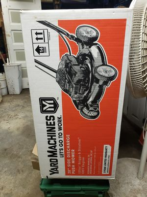 Lawn mower in Box never open for Sale in Lawrence, MA