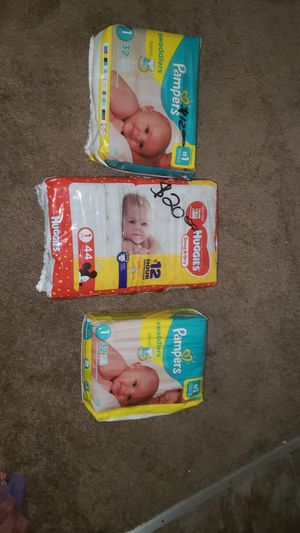 Baby Pampers for Sale in Houston, TX