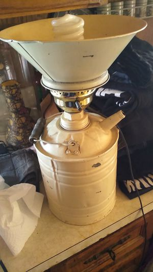 Vintage milk jug lamp for Sale in Phoenix, AZ