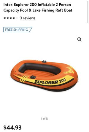 New 2 person inflatable rafting boat for Sale in Norwalk, CA