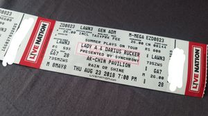 Darius Rucker and Lady Antebellum for Sale in Globe, AZ