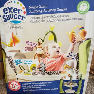 Evenflo ExerSaucer Jump and Learn Jumper, Jungle Quest for Sale in Cleveland, OH