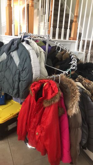 Snow winter jackets bibs pants boots gloves goggles hats for everyone for Sale in Saint Johns, FL
