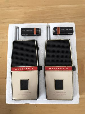 Vintage Walki talkies like new for Sale in Winnetka, IL