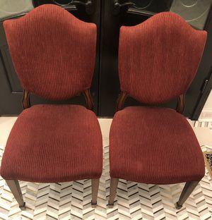 Beautiful Burgundy Twin Chairs for Sale in Leesburg, VA