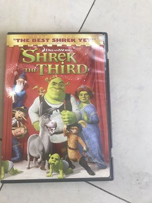 Shrek the Third for Sale in Rancho Cucamonga, CA