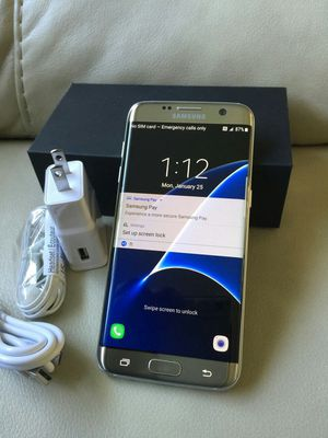 Samsung Galaxy S7 edge , UNLOCKED .  Excellent Condition  ( as like New) for Sale in Fort Belvoir, VA