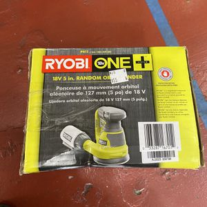 18V Ryobi Orbit Sander (tool only) Asking $35 for Sale in La Habra, CA
