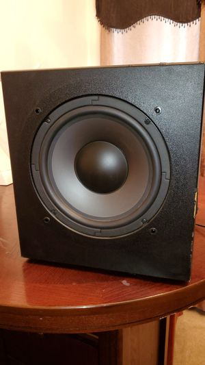 Polk Audio Subwoofer 250 watts Very Loud for Sale in Las Vegas, NV