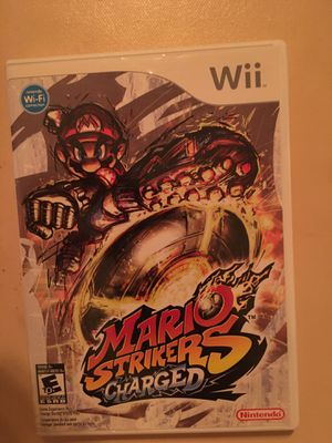 Nintendo Wii Mario strikers charged for Sale in Visalia, CA