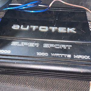 Radio Speaker And 1000 Watt Amp for Sale in Lake Wales, FL