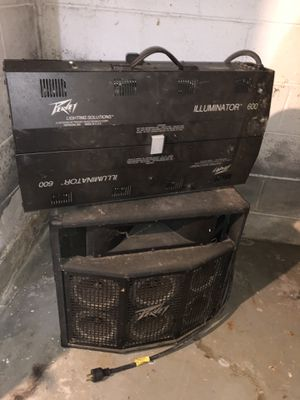 Speakers , lights,Dj equipment, and more for Sale in Eastpointe, MI