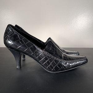 Franco Sarto Black Leather Heels for Sale in Philadelphia, PA