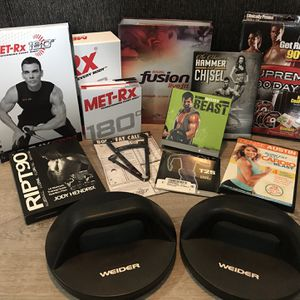 Exercise Programs - DVDs And Equipment for Sale in Harrisburg, PA