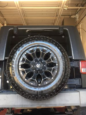 """Five (5) Fuel Rims 17"""" ** RIMS ONLY ** for Sale in Brookeville, MD"""
