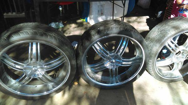 26inch rims needs 2 tires