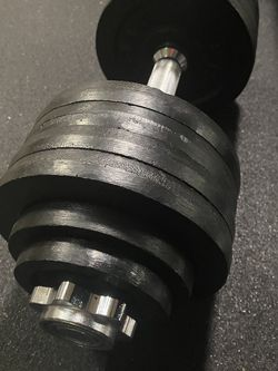 Adjustable Dumbell - 52.5lb (NEW) for Sale in Kent,  WA