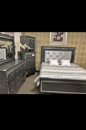 King LED Bedroom Set for Sale in SIENNA PLANT, TX