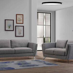 NEW QUITO FABRIC SOFA AND LOVE SEAT IN GRAY. ONLY $699. NO CREDIT CHECK OR ONE YEAR DEFERRED INTEREST FINANCING AVAILABLE for Sale in Brandon, FL