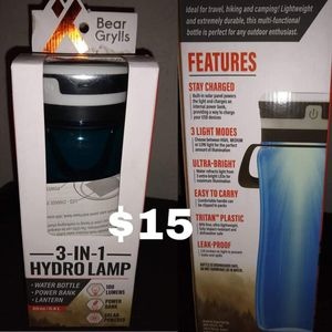 3 in 1 hydro lamp for Sale in Johnstown, PA