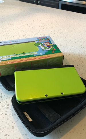 Nintendo 3ds xl lime green special edition for Sale in Braselton, GA