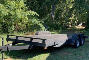 Car hauler trailer 18x7 - good condition for Sale in Lawrenceville, GA