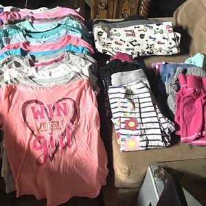 7-8 GIRLS CLOTHING FOR CHEAP for Sale in Denver, CO