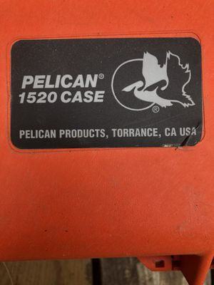 Pelican 1520 case with foam for Sale in Standish, ME