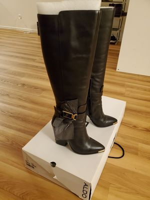 Aldo tall leather boots for Sale in Temple City, CA