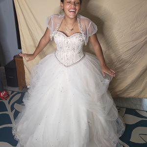 Sweet 16 or wedding dress for Sale in Deltona, FL