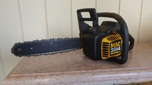 Mac 3214 gas 14-inch chainsaw 32cc. OBO for Sale in Rancho Santa Fe, CA