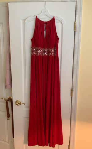 Red prom dress size 10 approx* for Sale in Woodbine, MD