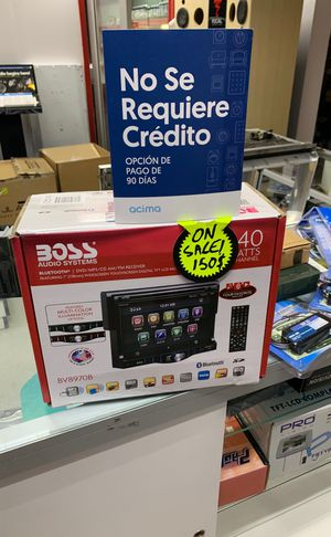 Boss audio system Bluetooth car radio for Sale in Houston, TX
