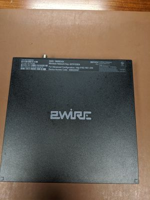 AT&T 2Wire router - 3801HGV for Sale in Houston, TX