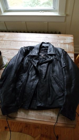 Leather Motorcycle jacket for Sale in Earlysville, VA