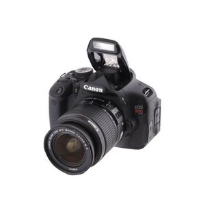 Canon DSLR REBEL T3i like new with two lenses for Sale in Rowlett, TX